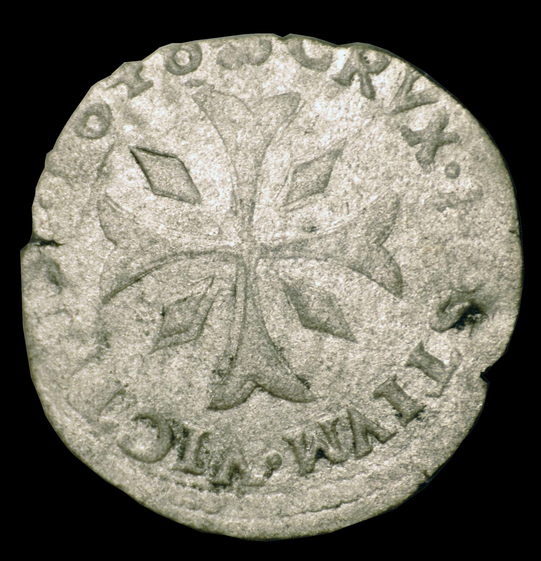 1648 honore ii 1 6eme pezzeta revers