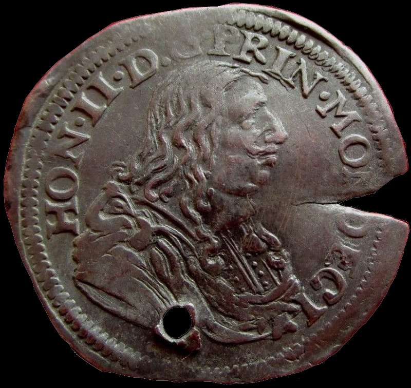 1658 honore ii 1 12 ecu avers