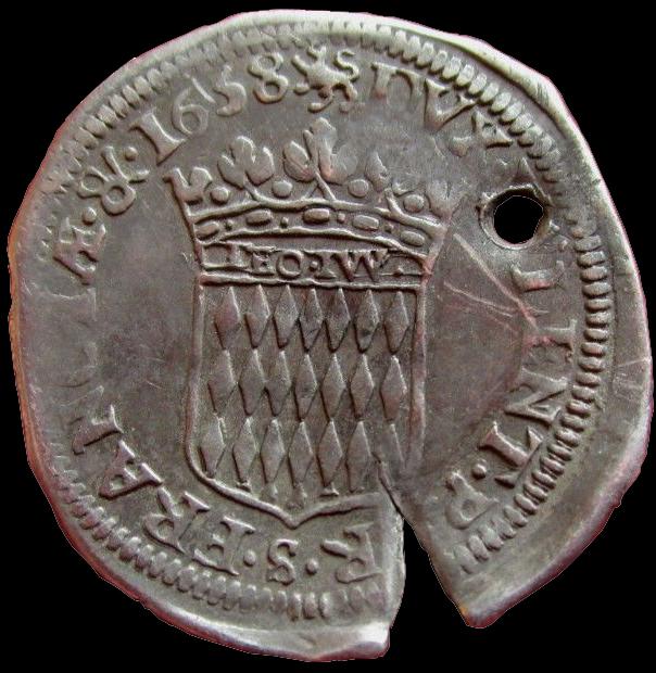 1658 honore ii 1 12 ecu revers