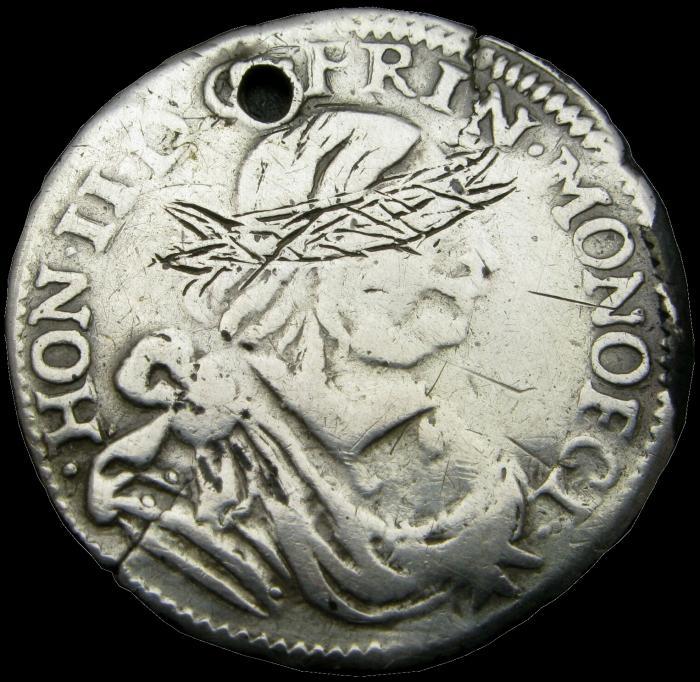 1660 honore ii 12eme d ecu revers 1