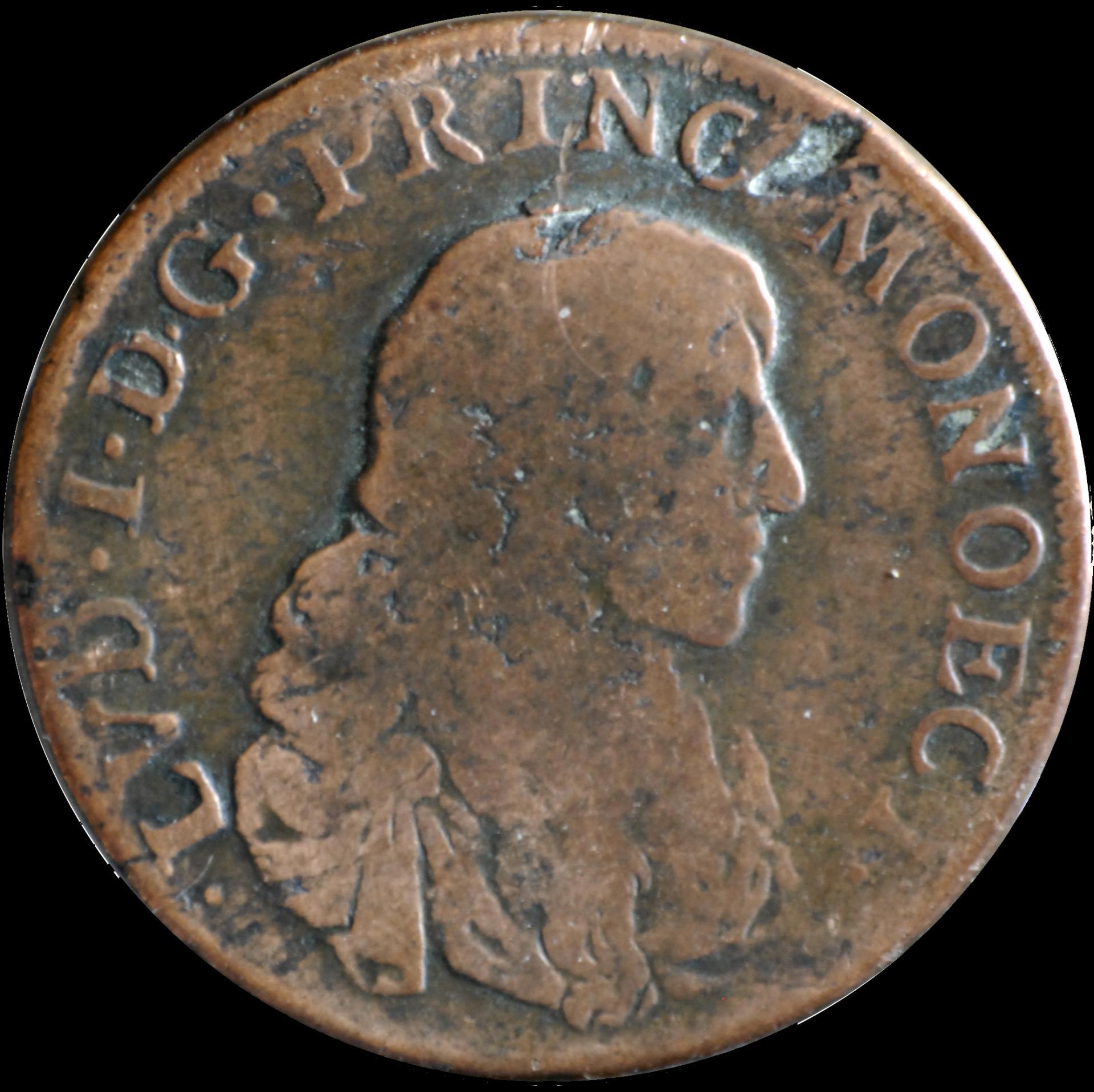 1673 louis 1er pezzetta face var 1
