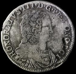 1735 honore iii pezzetta avers