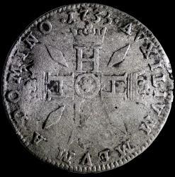 1735 honore iii pezzetta revers