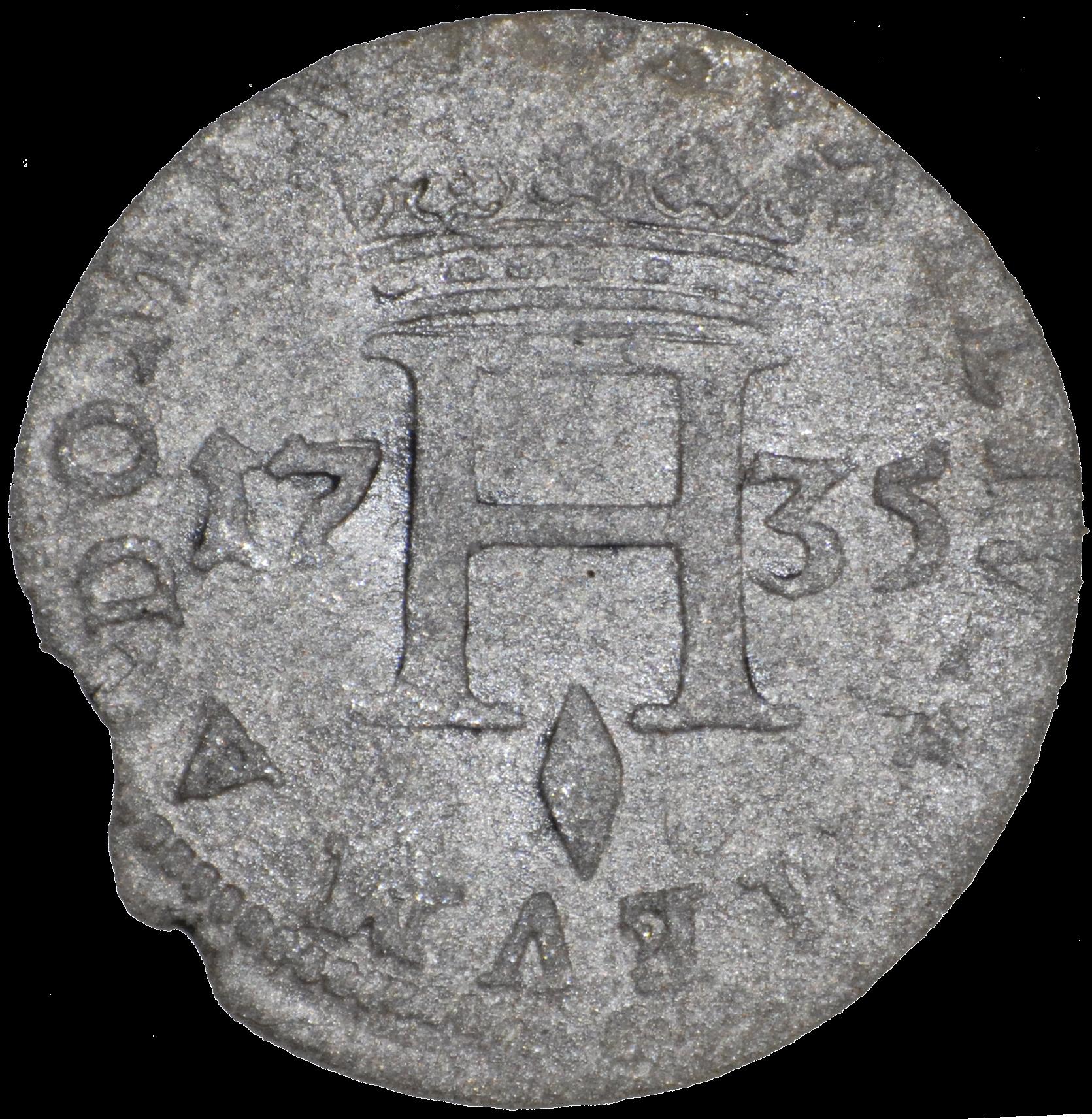 1735 honore iii sol revers b
