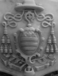 Blason cathedrale arnal du curel jean charles