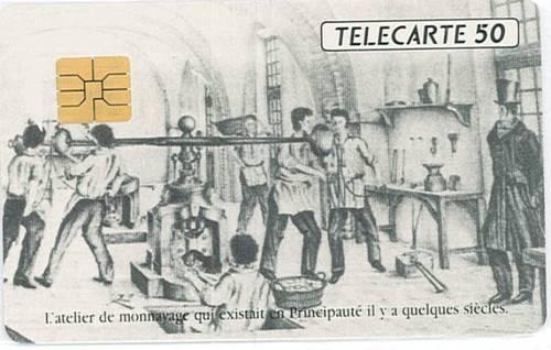 Telecarte monaco atelier monaco